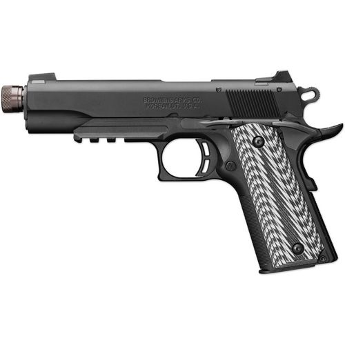 Browning 1911 Black Label Suppressor-Ready .22 LR Pistol with Rail - view number 2