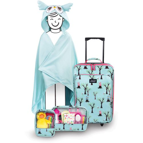 Coleman Kids' 4-Piece Owl Travel Set