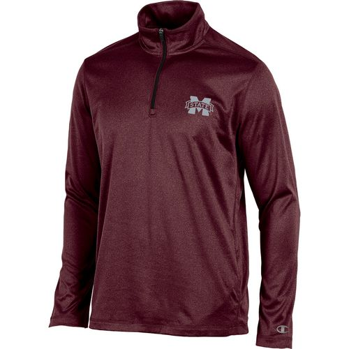 Champion Men's Mississippi State University Victory 1/4 Zip Long Sleeve Pullover