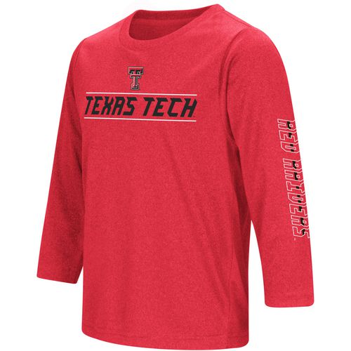 Colosseum Athletics Boys' Texas Tech University BF Long Sleeve T-shirt
