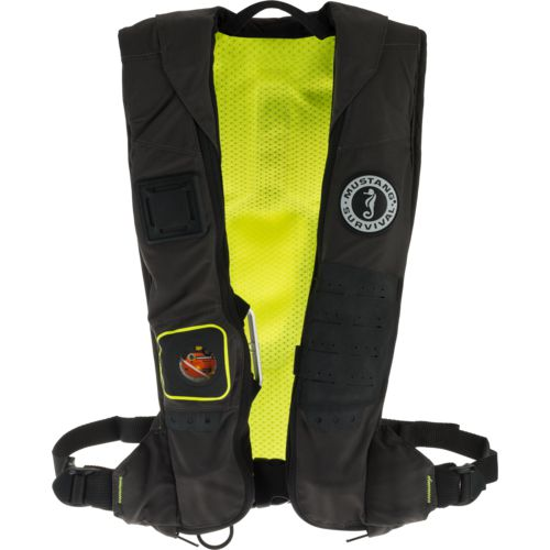 Mustang Survival Adults' Elite 28 K Hydrostatic Inflatable Personal Flotation Device