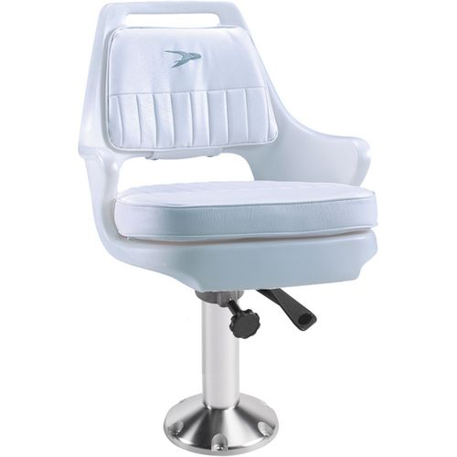 Wise Pilot Helm Chair with 15 in Fixed Pedestal