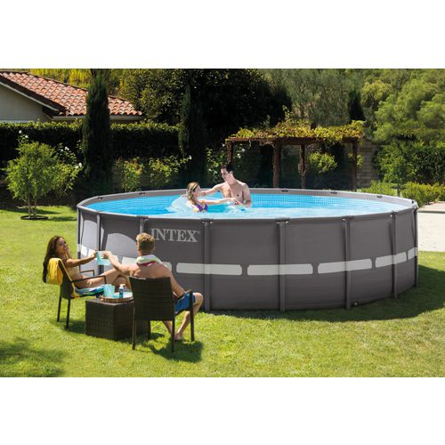 INTEX 16 ft x 48 in Round Ultra Frame Pool Set - view number 2