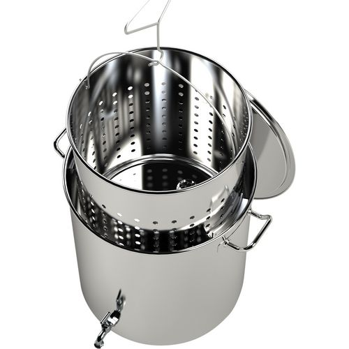 Breauxs 80 qt Stainless-Steel Pot - view number 2