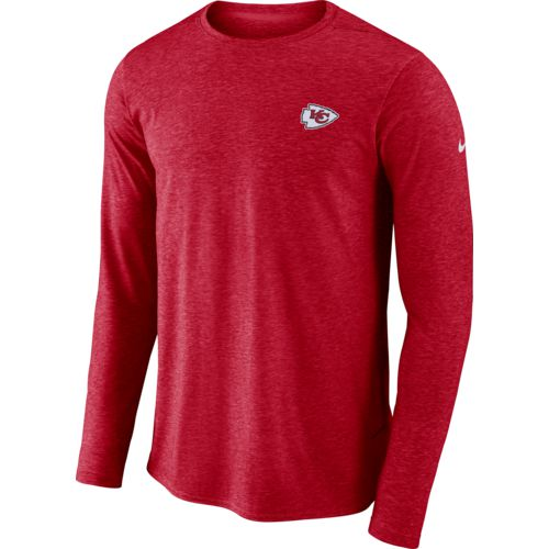 Nike Men's Kansas City Chiefs Coach Long Sleeve T-shirt