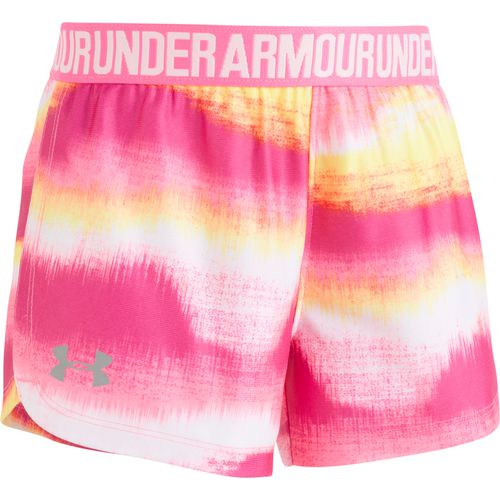 Under Armour Girls' Horizon Printed Play Up Shorts