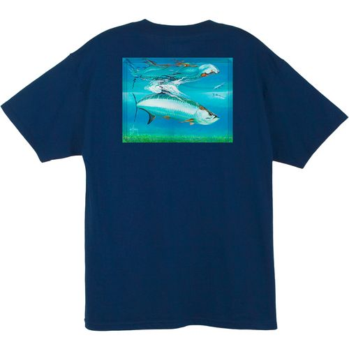 Guy Harvey Men's Tarpon Reflections T-shirt
