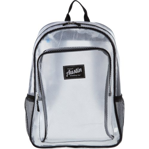 Display product reviews for Austin Trading Co. Clear Backpack