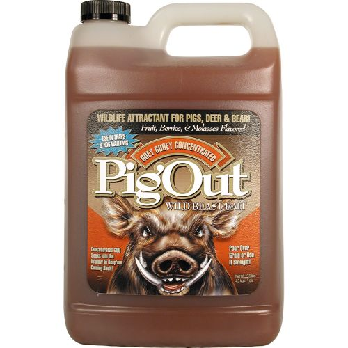 Display product reviews for Evolved Habitats 1-Gallon PigOut Attractant