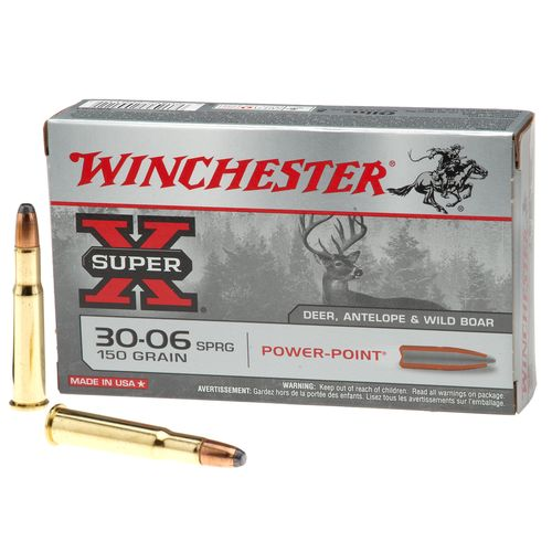 Winchester SUPER-X® Power-Point® .30-06 Springfield 150-Grain Rifle Ammunition