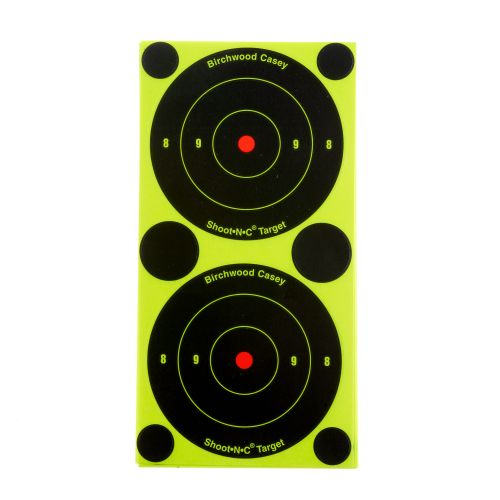 "Display product reviews for Birchwood Casey® 3"" Shoot-N-C® Bull's-Eye Targets 36-Pack"