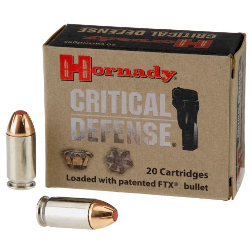 Hornady .45 185-Grain Critical Defense® Handgun Ammunition