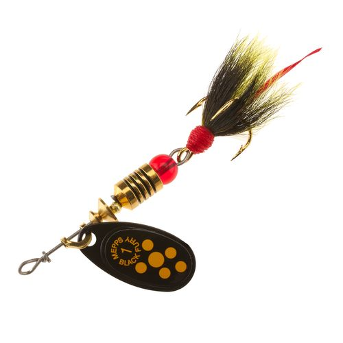 Mepps Black Fury 1/8 oz Dressed Treble In-Line Spinner