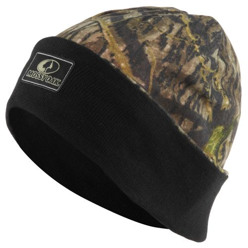 Mossy Oak Reversible Knit Cap with Cuff