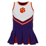 Nike Infant/Toddler Girls' Clemson University Cheerleader Set