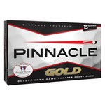 Pinnacle Gold Golf Balls 15-Pack