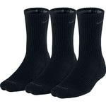 Nike Adults' Dri-FIT Half Cushion Crew Socks 3-Pack