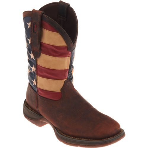 Durango Men's Rebel American Flag Western Boots - view number 2