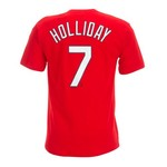 Majestic Adults' St. Louis Cardinals Matt Holliday #7 T-shirt