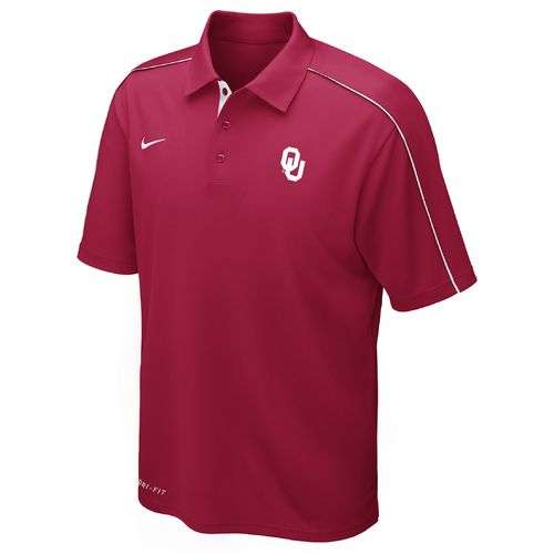 Nike Men's University of Oklahoma Dri-FIT Control Force Polo Shirt