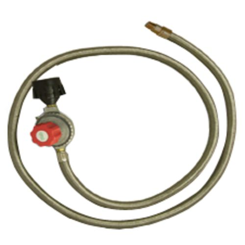 Display product reviews for King Kooker® Stainless-Steel Hose and Regulator with Male Pipe Thread and Orifice