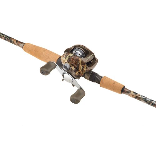 Academy h2o xpress camo 7 39 mh freshwater saltwater for Camo fishing pole