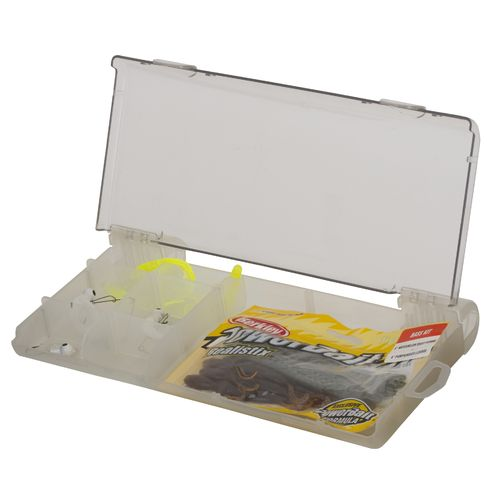 Shakespeare catch more fish bass tackle box kit academy for Bass fishing kit