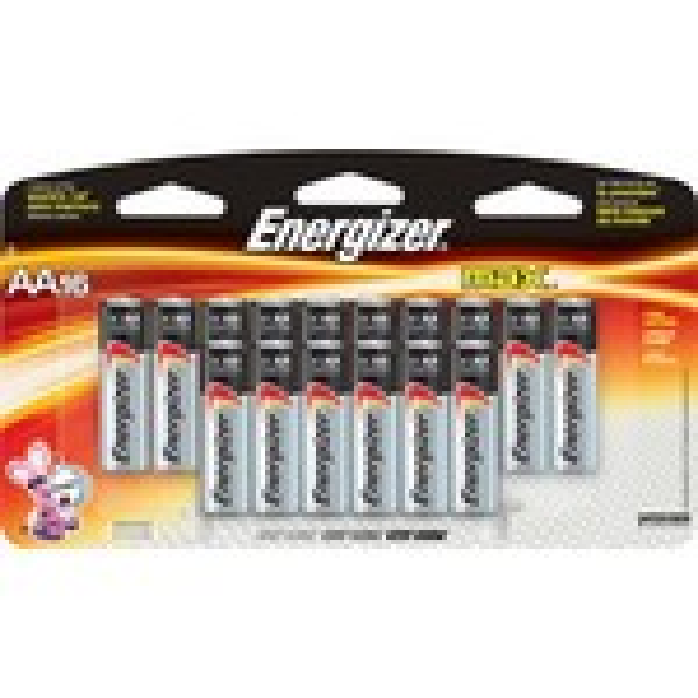 Energizer® AA Alkaline Batteries 16-Pack