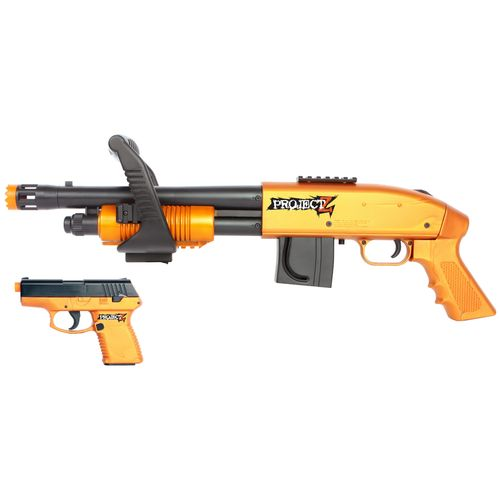 PROJECT Z Chainsaw Airsoft Shotgun and Pistol Kit