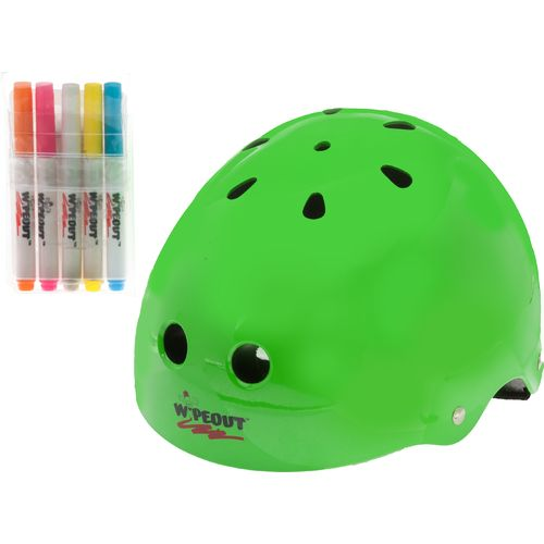 Wipeout  Kids  Dry-Erase Large Cycling Helmet