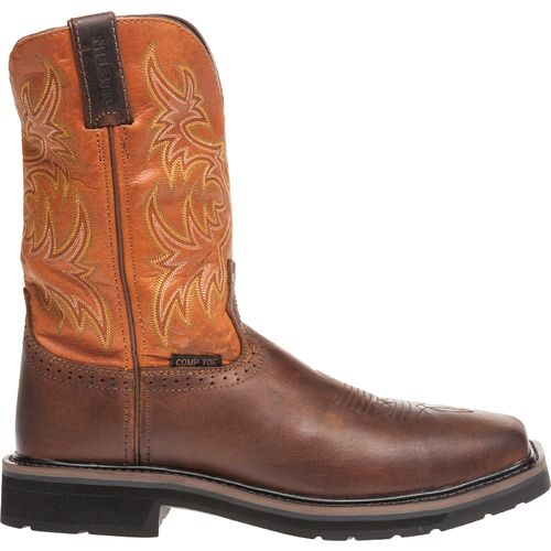 Display product reviews for Justin Men's Rugged Composition Toe Western Work Boots