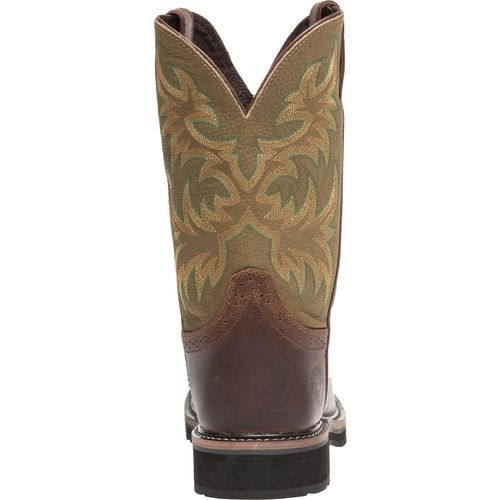 Justin Men's Waxy Cowhide Western Work Boots - view number 4