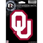 Tag Express University of Oklahoma Die-Cut Decal