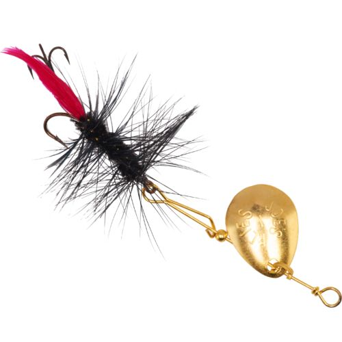 Joe's Flies Short Striker Black Woolly Worm In-Line