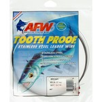 American Fishing Wire Tooth Proof 69 lbs - 30 ft Single-Strand Leader Wire - view number 1