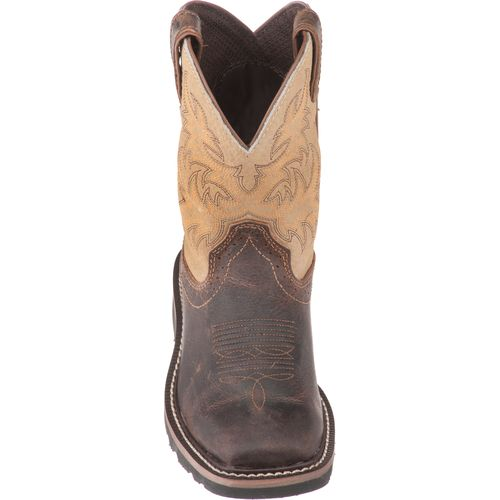 Justin Kids' Stampede Waxy Boots - view number 4