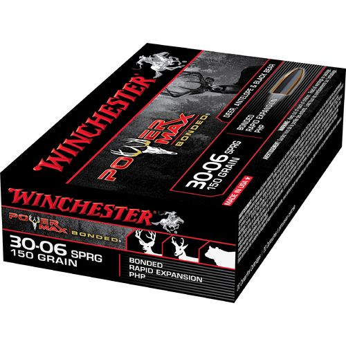 Winchester Super-X Power Max Bonded .30-06 Springfield 150-Grain Centerfire Rifle Ammunition - view number 2