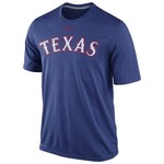 Nike Men's Texas Rangers Legend Wordmark T-shirt