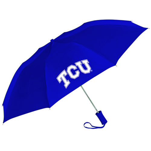 Storm Duds Adults' Texas Christian University Automatic Folding Umbrella