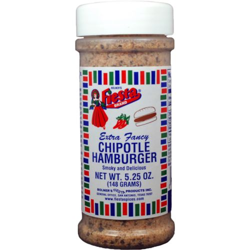 Bolner Fiesta 5.25 oz. Extra-Fancy Chipotle Hamburger Seasoning