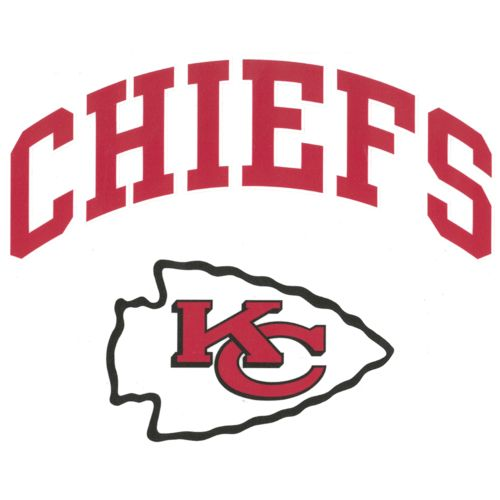 "Stockdale Kansas City Chiefs 8"" x 8"" Vinyl Die-Cut Decal"