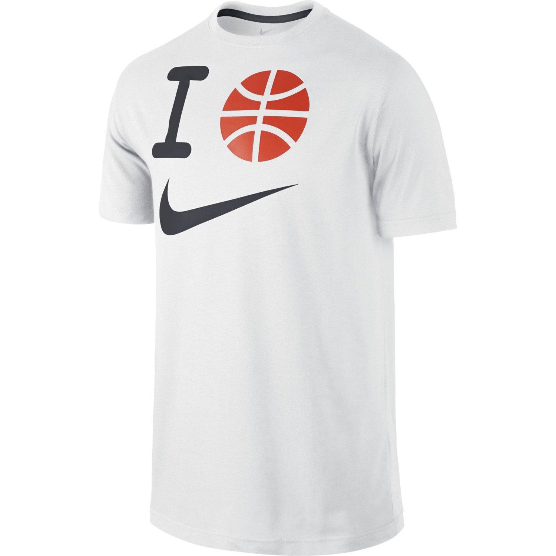 nike men 39 s i basketball swoosh t shirt academy
