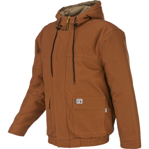 Display product reviews for Wolverine Men's Flame Resistant Hooded Work Jacket