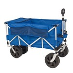 Academy Sports + Outdoors™ All-Terrain Folding Cart with Cooler