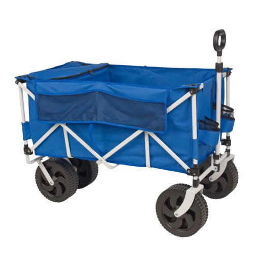 Academy Sports + Outdoors All-Terrain Folding Cart with Cooler