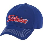 Titleist Adults' University of Kansas Fitted Collegiate Cap
