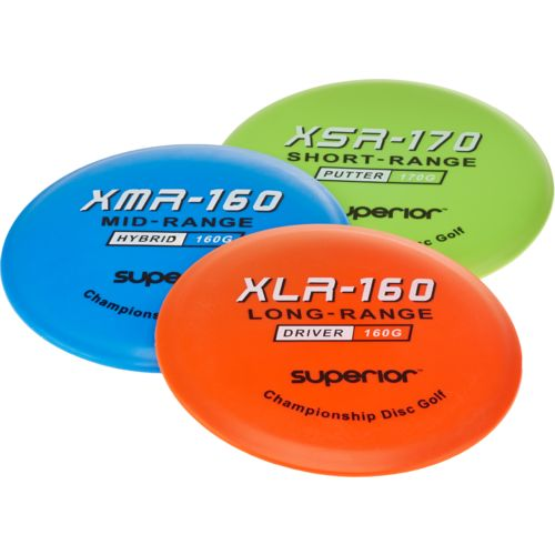 Superior™ Adults' Disc Golf Starter Kit