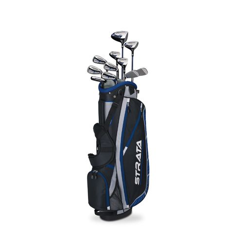 Display product reviews for Callaway Men's Strata Plus Complete Golf Club Set with Bag