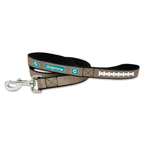 GameWear Miami Dolphins Reflective Football Leash