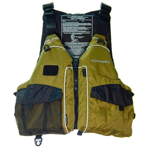 Extrasport® Adults' Elevate Angler Life Vest